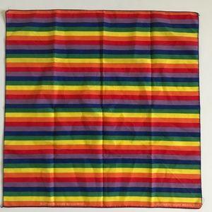 Vintage Rainbow Handkerchief